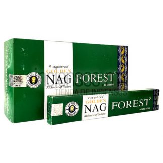 Incienso Vijayshree GOLDEN Forest (180 gramos)