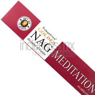 Incienso Vijayshree GOLDEN Meditation (15 gramos)