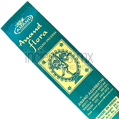 Incienso Anand Flora (Fluxo Incense) [25 gramos]