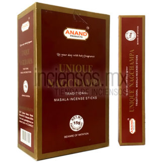 Incienso Anand Unique Nag Champa (180 gramos)